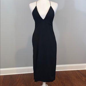 🆕 Nasty Gal Thigh Split Midi Dress